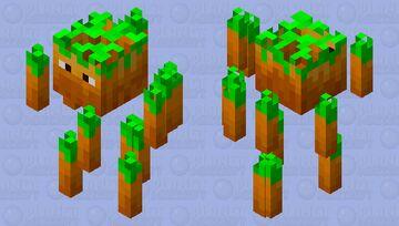 King of Carrots Minecraft Mob Skin