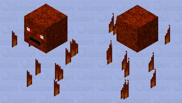 fire thing Minecraft Mob Skin