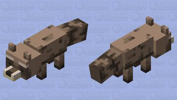 Raccoon Minecraft Mob Skin