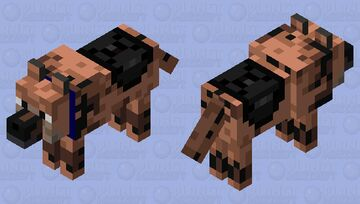 K9 for household Minecraft Mob Skin