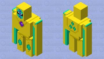 Deoxys (Defense Forme, Shiny) Minecraft Mob Skin