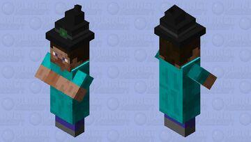 STEVE GOT AN HAT, AND NOW DOUBLE CLOTHES, WE ARE DOOOOOOOOOOOOOMED! Minecraft Mob Skin