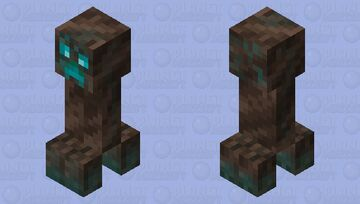 Soul sand valley creeper Minecraft Mob Skin