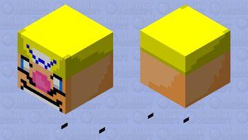 the wario apparition (REMAKE) Minecraft Mob Skin