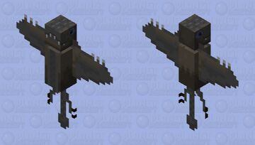 Dimorphodon (not a dino, flying reptile, pterosaur.) Minecraft Mob Skin