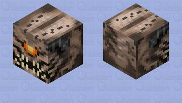 Pain Elemental Minecraft Mob Skin