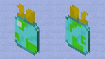 PMC 10 year cape Minecraft Mob Skin