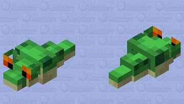 Slimy Slug Minecraft Mob Skin