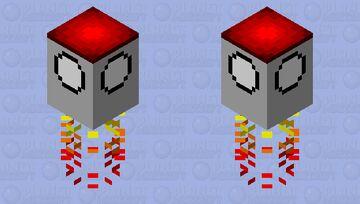 Rocket Minecraft Mob Skin