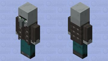 Vindicator but related with the villagers Minecraft Mob Skin