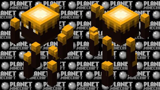 Upgraded Blaze Minecraft Skin