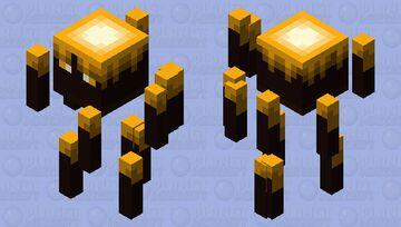 Upgraded Blaze Minecraft Mob Skin
