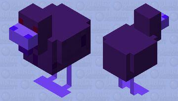 Ender Chicken Minecraft Mob Skin