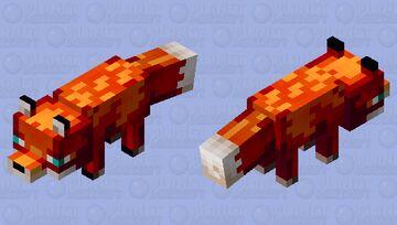 Fire Fox Minecraft Mob Skin