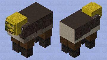 Shrek Sheep Minecraft Mob Skin