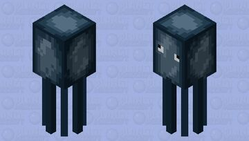 backward old squid Minecraft Mob Skin
