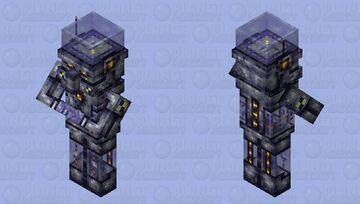 Humanoid Modern Mechanism (H.M.M.) Minecraft Mob Skin