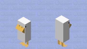 Hrmmmmk. (Untitled Goose Game.) Minecraft Mob Skin