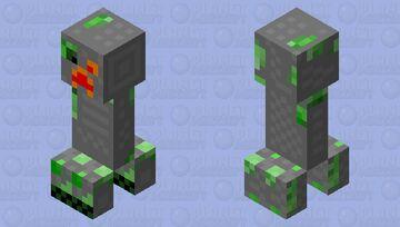 CiBorg Creeper Minecraft Mob Skin
