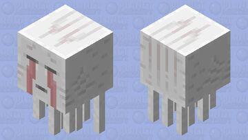 Blood Tears Ghast Minecraft Mob Skin