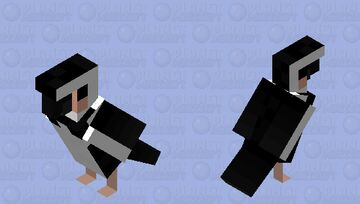 Magellanic Penguin Minecraft Mob Skin