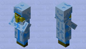 sky villager Minecraft Mob Skin