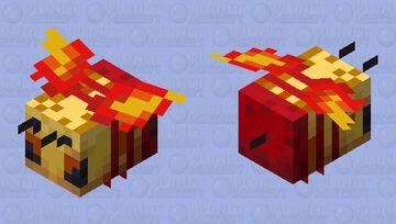 Flame-Fire Elemental 4 Minecraft Mob Skin