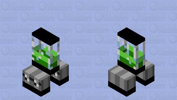 Creeper Blender Minecraft Mob Skin