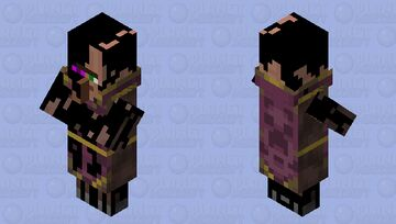 Corrupted villager-cleric Minecraft Mob Skin