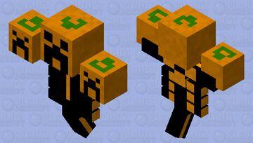Pumpkin wither Minecraft Mob Skin