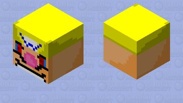 The wario apparition (shooting) Minecraft Mob Skin