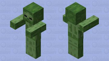 Naked zombie Minecraft Mob Skin