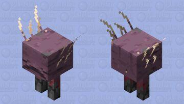 Meet the Strider (Cold Variant) Minecraft Mob Skin