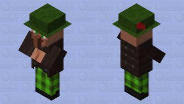 Optifine Villagers forest villager remodel Minecraft Mob Skin