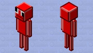 Red uspeakable (request) Minecraft Mob Skin