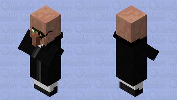 Sir Villager Minecraft Mob Skin