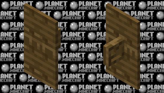 Complete wood shield Minecraft Skin
