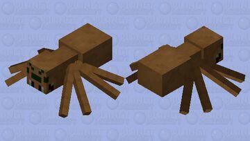 If the old spider texture was still here (cave spider) Minecraft Mob Skin
