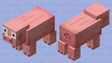 Oh my pig! (OMP) Minecraft Mob Skin