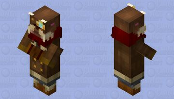 Vastaya Trader | League of Legends Shopkeeper Minecraft Mob Skin