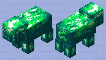 PixelGreen Pig Minecraft Mob Skin