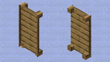 Sheetless bed Minecraft Mob Skin