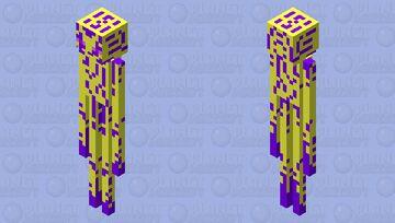 The Glowing Enderman Minecraft Mob Skin