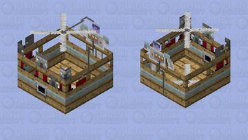 pillager airship Minecraft Mob Skin