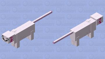 Ocelot axolotl 2 electric bogaloo(ocelotl? axocelot?) Minecraft Mob Skin