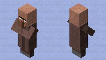 Herobrine villager Minecraft Mob Skin