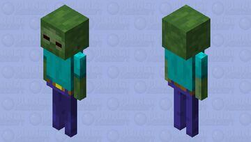 Cursed Zombie Minecraft Mob Skin