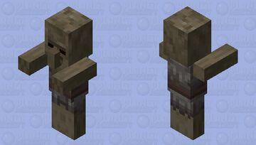 Husk Villager Minecraft Mob Skin