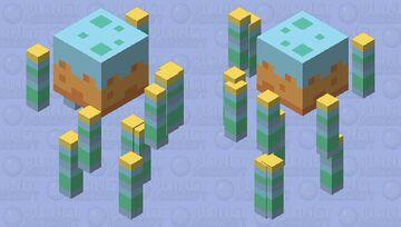 birfday caek Minecraft Mob Skin