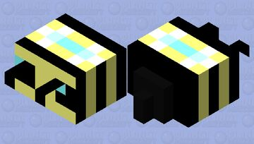 yeah im legit totes a bee ... srsly bruh Minecraft Mob Skin